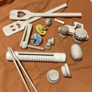 Dřevěné rytmické nástroje